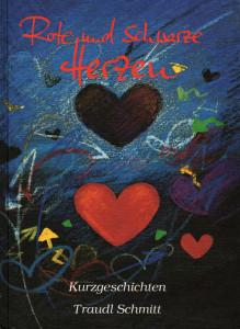 Rote und schwarze Herzen